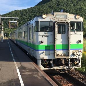 久しぶりの北海道キハ40の旅