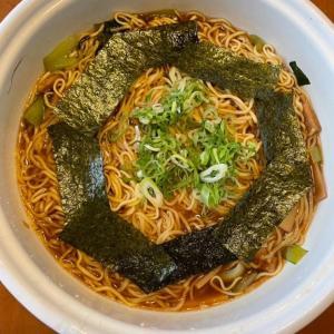 「マルちゃん製麵しょうゆ味の日」からの「チョル麺」(~_~;)