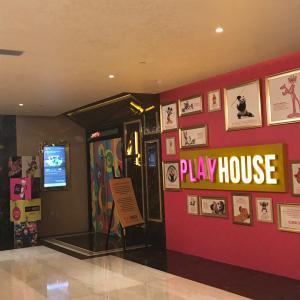 さすがムンバイ!子ども用映画館