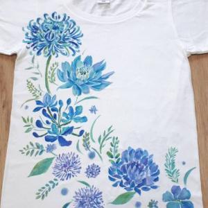 青い花 東京のシャツ