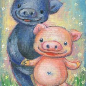チャリ豚夫婦