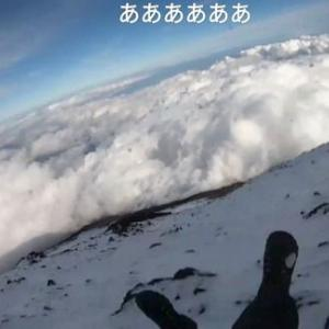 【富士山滑落】自殺か!?配信中の男性が富士山から滑落死亡「山を舐めきった結果」