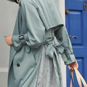 「許せないファッション」ロングスカート・ロングカーディガンにレギンス