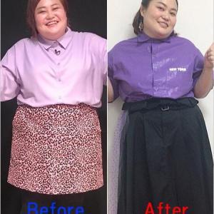 ゆいPダイエット30キロ痩せる!見た目の変化が・・・