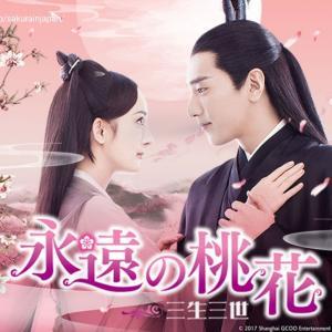 中国ドラマ「永遠の桃花」にハマってます♪