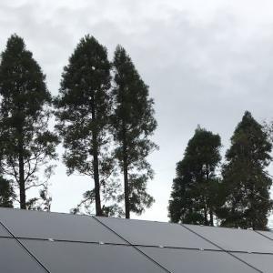 太陽光発電所1基目 連系完了