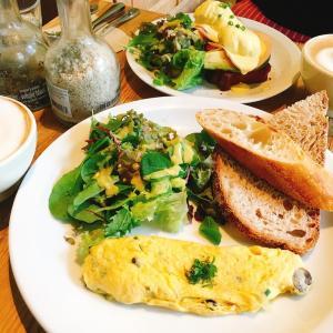 漫画「いつかティファニーで朝食を」に登場の素敵カフェで朝ごはん♡@ルパンコティディアン芝公園