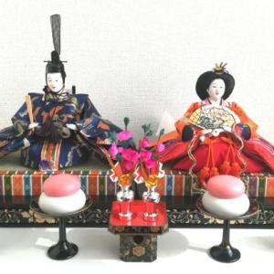 雛人形を季節の飾りにする