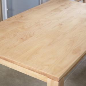 10年以上使用した無垢のダイニングテーブルをメンテナンスに出した結果は?