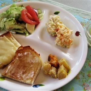 11月3日の母の朝食&夕食 ブイヤベース風スープなど