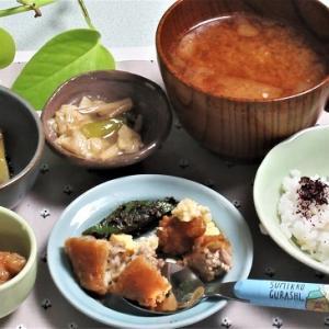 6月26日の母の夕食 「旬すぐ」アソート