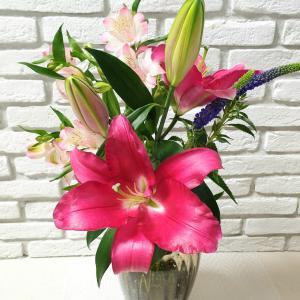 このお花を飾った日❁帰宅した旦那がひとこと