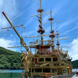 晴れた日の箱根【海賊船】が楽しかった