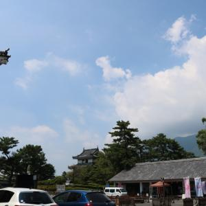 雲仙岳と「島原城」
