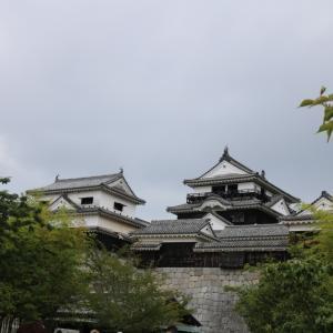 二度の火災でも生き残る「松山城」