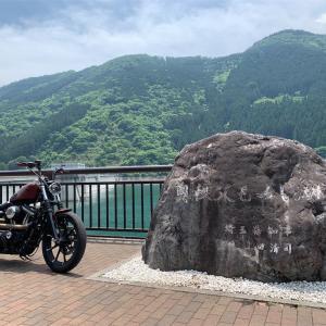 名栗湖~滝沢ダムへソロツーリング!