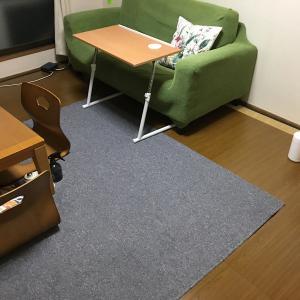 テーブルと座椅子届きました