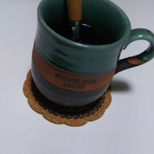 コーヒータイム捗りけり