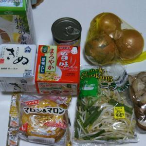 11月2週目食費残と購入品