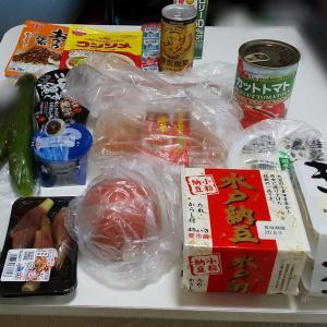 8月1週目食費残と購入品