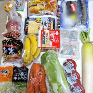10月4週目食費残と購入品