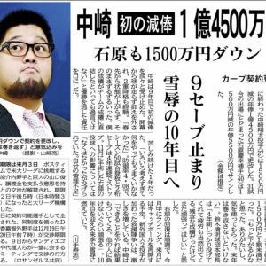 鈴木清明球団本部長が中崎へ減額提示下理由を語る