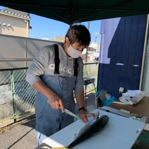 辰郎先生の魚解体ショー