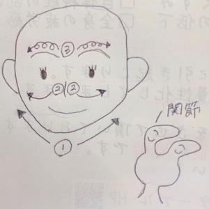 簡単顔スッキリマッサージ方法!(^^)!