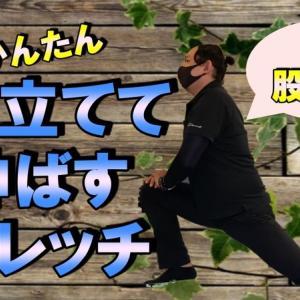 【ストレッチ動画】膝を立てて伸ばすストレッチをやるだけで腰・股関節が楽に(動画有)