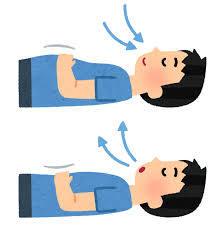 自律神経、高血圧、不眠にも!!『腹式呼吸』☆