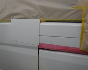 ベンツV350の鈑金塗装依頼 3 完成