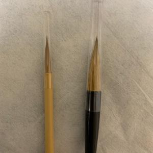 筆が傷む原因、毛の抜ける原因はキャップ