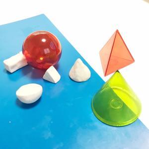 ねんど遊びで量(g)と立体を学ぼう!