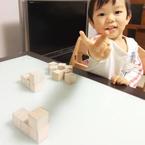 積み木クイズで思考する