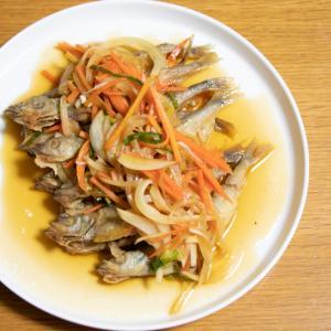 【簡単レシピ】米油でさっぱり!ししゃもの南蛮漬け