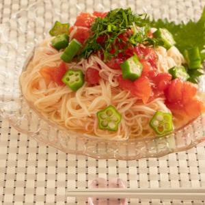 【簡単レシピ】米油でコクうま!トマトの冷たい素麺