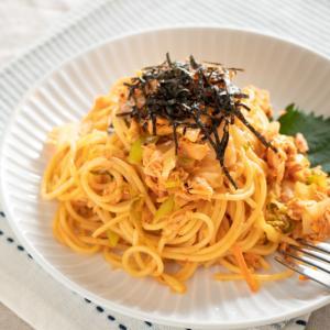 【簡単レシピ】ツナキムチクリームパスタ