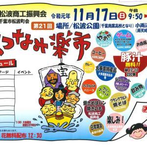 松波 楽市 令和元年11月17日開催決定