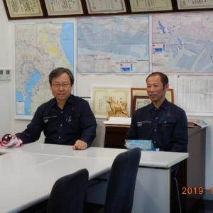 台風19号災害に対して、千葉県建設業協会会員は待機してます。待機が空振りになります様にR1.10.12