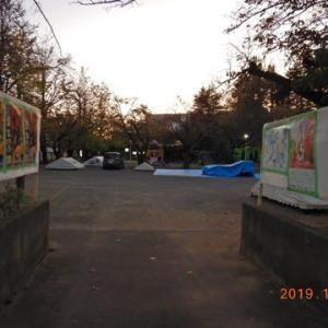 この状態で、準備はここまで。令和元年11月17日(日)まつなみ楽市