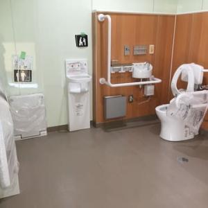 どこのトイレか、わからない位すごい。白井市七次台中