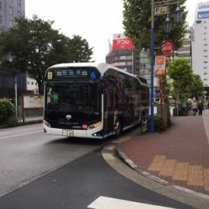 水素バスを見ました。
