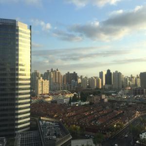 上海2364日目 秋晴れとガレット