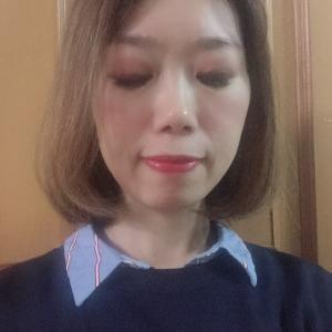 上海2667日目 かゆみのない顔にできた湿疹たち