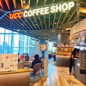 ucc でランチ at 上海IAPM店
