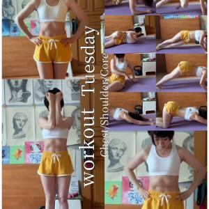 bodymake! workout 2021.5.18〜5.31