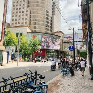 上海、秋晴れ続く〜
