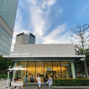 大好きな場所でリラックスしながら〜上海 manner coffee 自然博物馆店〜