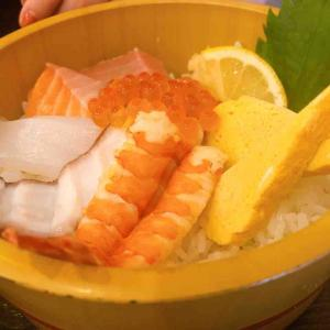友達がいただいた海鮮丼♪♪