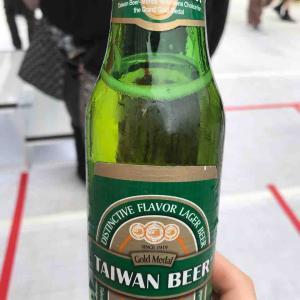 グルメな台湾ビールを飲んでみた(*^^)v